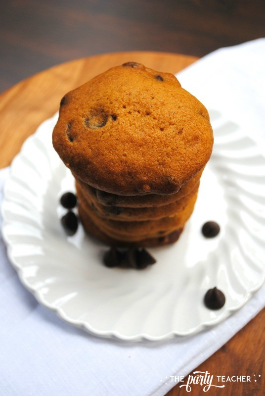 Pumpkin Chocolate Chip Cookies by The Party Teacher - 3