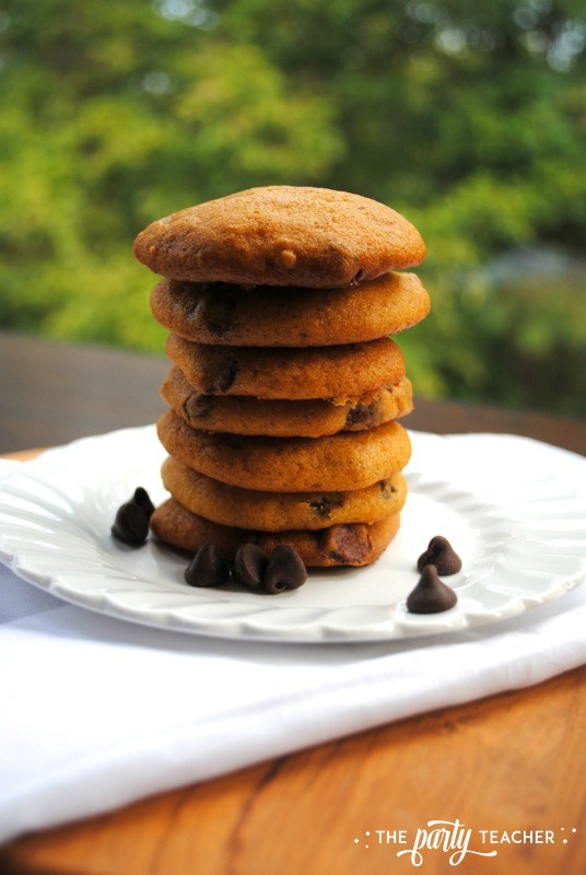 Pumpkin Chocolate Chip Cookies by The Party Teacher - 4