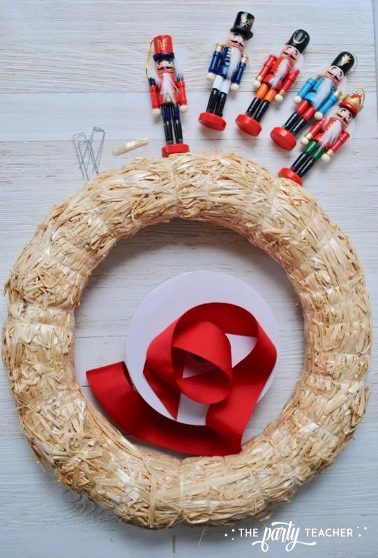 Nutcracker Wreath by The Party Teacher - 1