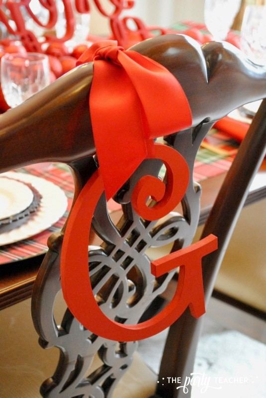 Christmas Chair Decorations 4 Ways by The Party Teacher - 10