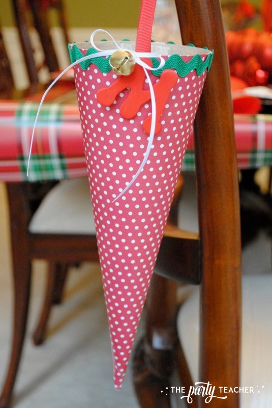 Christmas Chair Decorations 4 Ways by The Party Teacher - 25