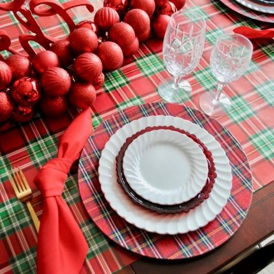 My 2019 Christmas Dining Room