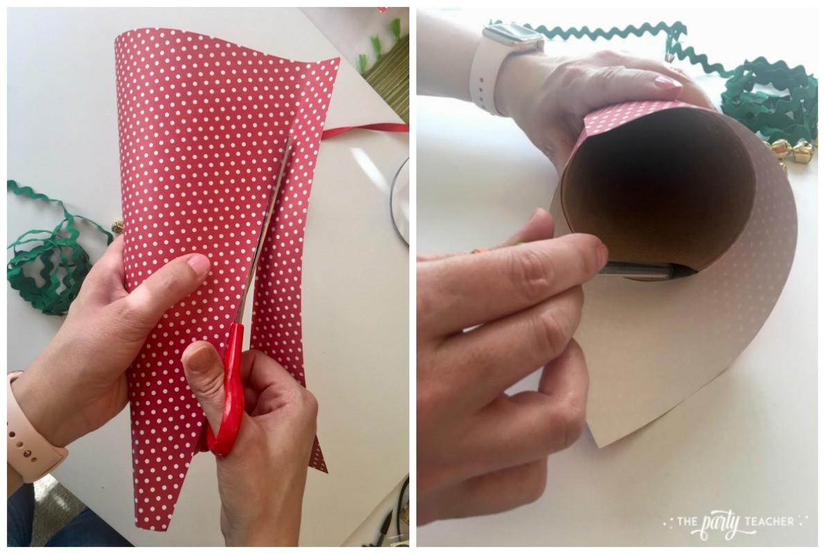 How to decorate paper cone by The Party Teacher-2