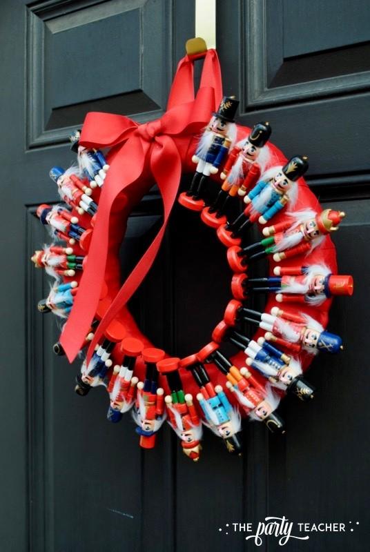 Nutcracker Wreath by The Party Teacher - 20