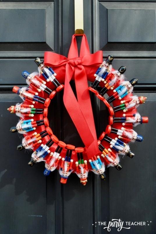Nutcracker Wreath by The Party Teacher - 21