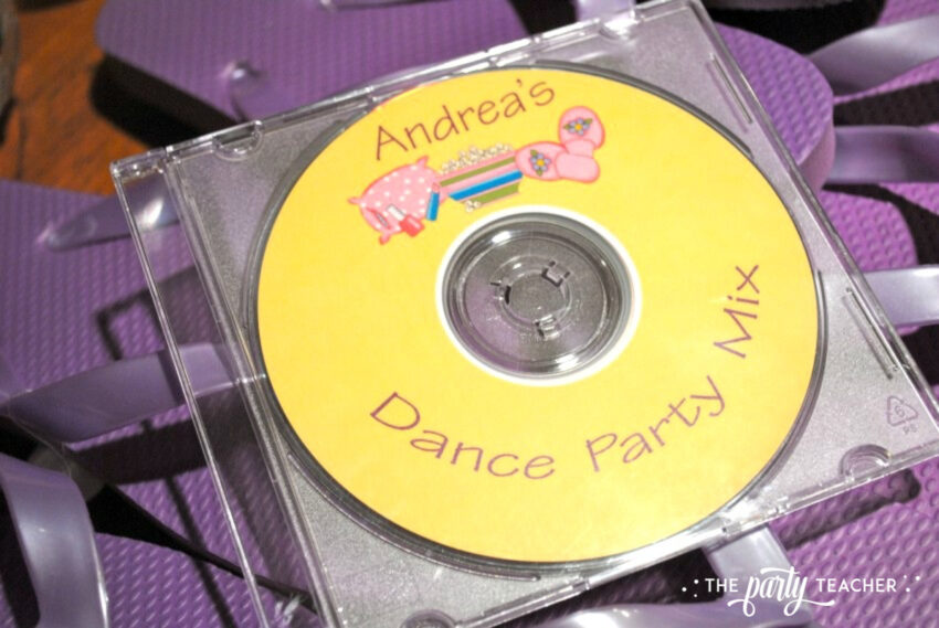 Girls Rule Slumber Party - dance party mix - The Party Teacher