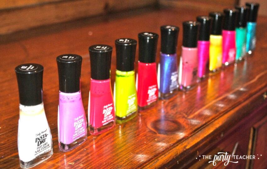 Girls Rule Slumber Party - nail polish - The Party Teacher