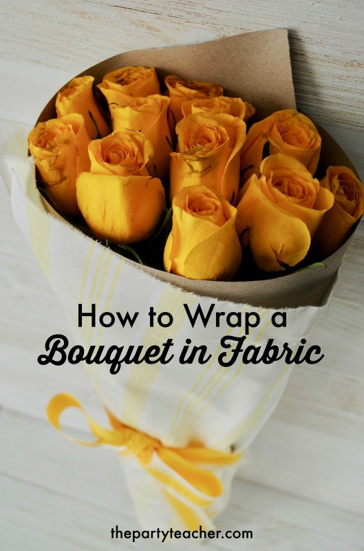 How to wrap a bouquet by The Party Teacher - 20 title