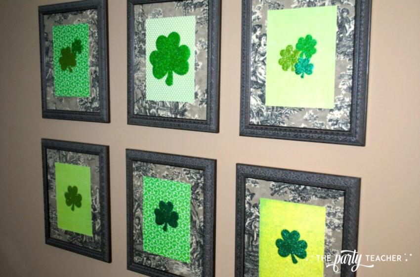 Transform decor - attach seasonal decor to glass - The Party Teacher