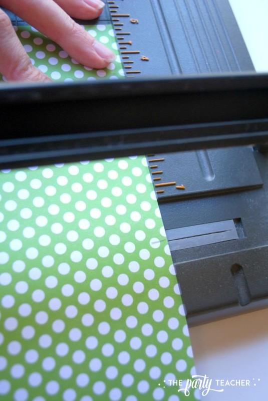 Transform decor - trim background paper - The Party Teacher