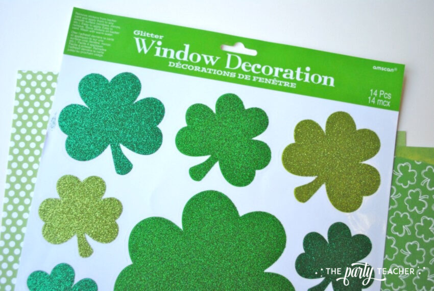 Transform decor - window clings - The Party Teacher