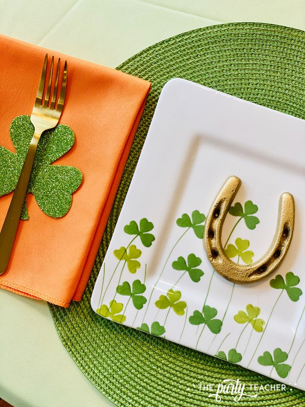 St. Patrick's Day Table by The Party Teacher - placemat