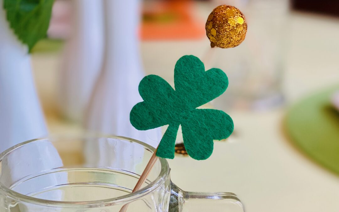 My Parties: Simple St. Patrick's Day Table