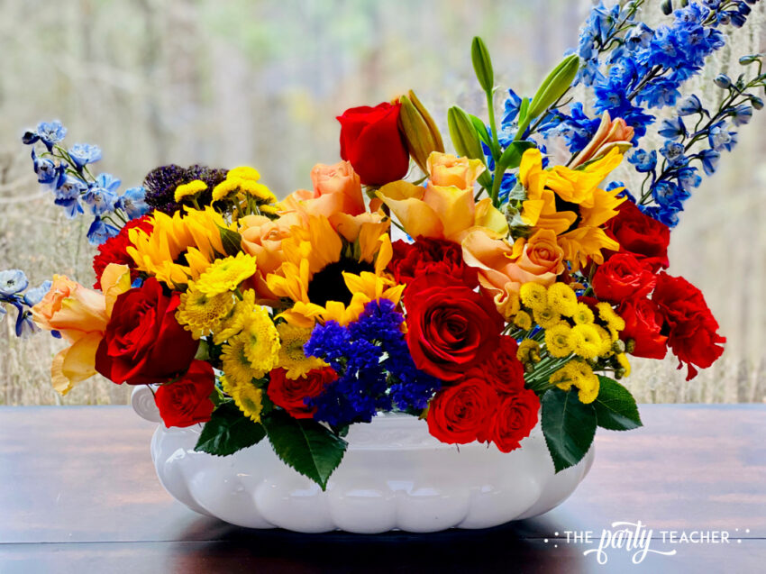 How to Arrange Flowers by The Party Teacher-WM23