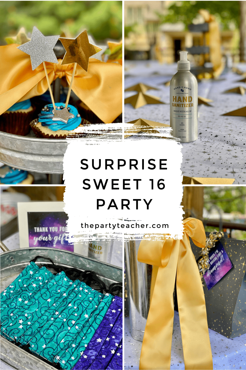 Surprise Sweet 16 Party by The Party Teacher