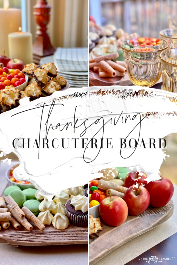 Easy Thanksgiving Charcuterie Board by The Party Teacher