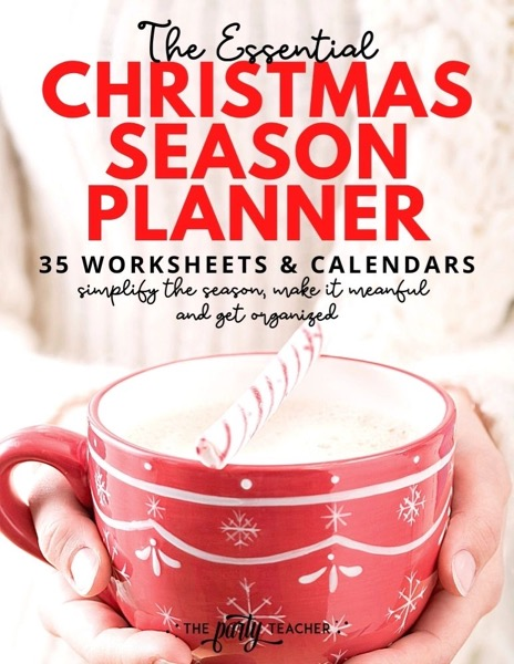 Christmas Season Planner Cover