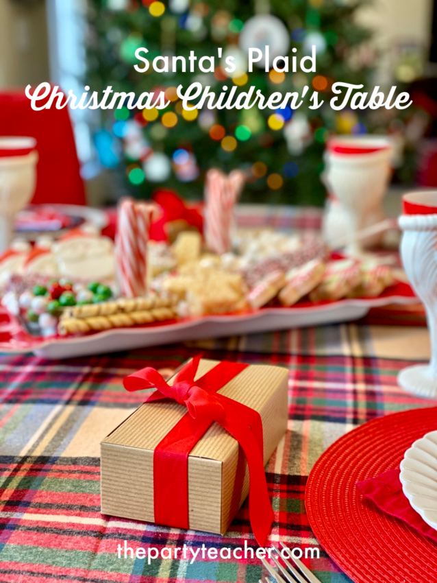 Christmas children's table by The Party Teacher - 49