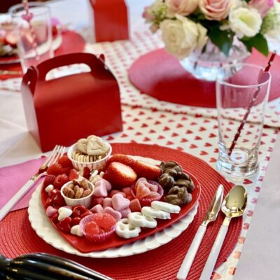 Individual Valentine's Candy Boards