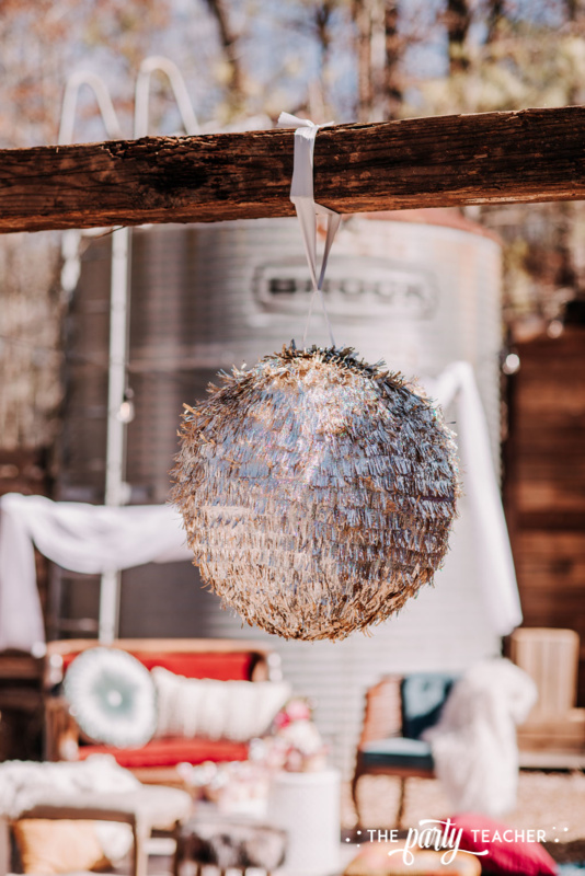 Boho Picnic Sweet 16 by The Party Teacher - 10 - pinata