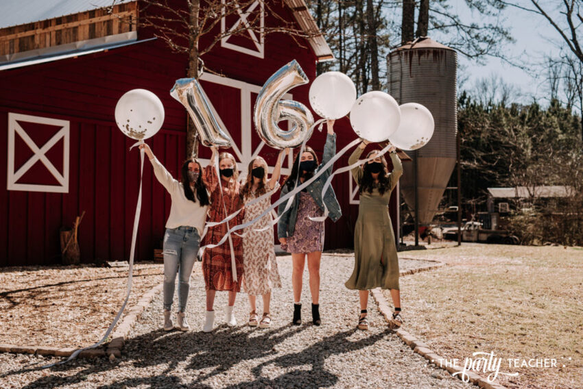 Boho Picnic Sweet 16 by The Party Teacher - 21 balloons