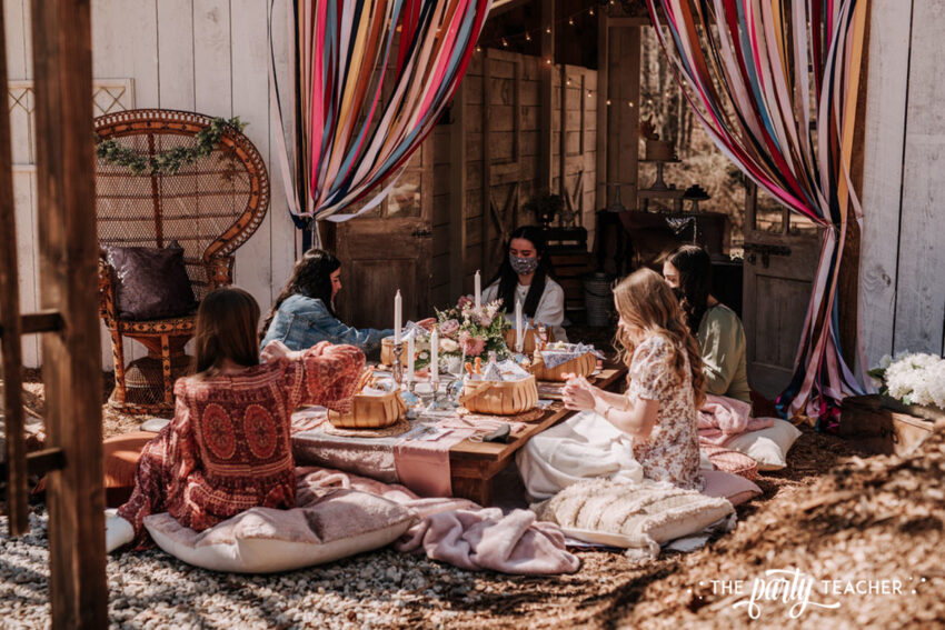 Boho Picnic Sweet 16 by The Party Teacher - 219