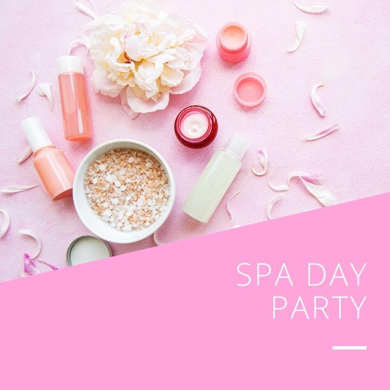 PPC Square Thumbnails - Spa Party